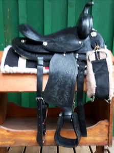 New pony saddle