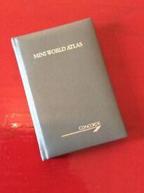 Concorde, Vintage Mini-Atlas, airline memorabilia