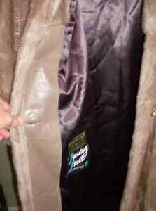 Vintage Faux Fur Coat by The Sterling Stall Group Stratford Kitchener Area image 3