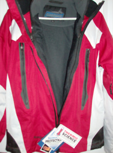 New Womens Jacket - Tags On - Summit Protection with hood