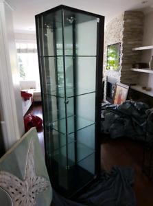 Curio, vitrine, unit, glass