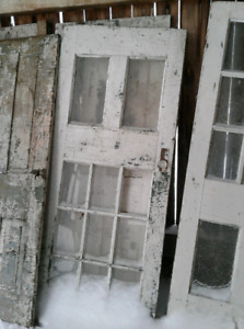 Salvaged Vintage house doors