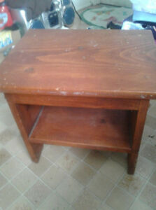 Wooden Stool Used for Decor