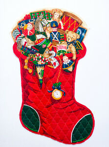 Christmas Stockings - ready for you to sew ($3-$6)