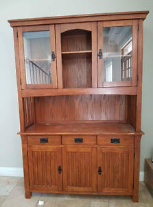 Amish Mission hutch and buffet