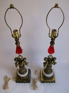 2 Lampes de Table Antiques - 2 Antique Table lamps West Island Greater Montréal image 2