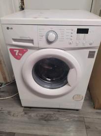 7kg lg washing machine with quick wash facility brushless motor