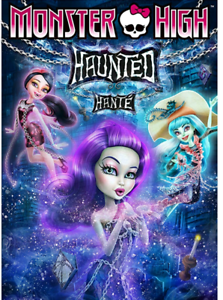 DVD Monster High Haunted-excellent état Audio: français/ anglais