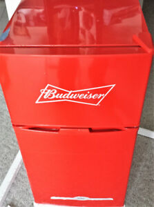 Bevco Budweiser Mini Fridge and Freezer
