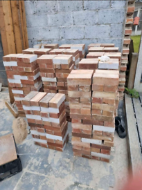 800 reclaimed bricks, all been cleaned up