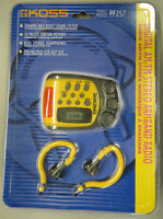 KOSS PP257 Water-Resistant Sports Armband Digital AM/FM Radio