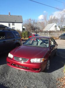 For Sale: 2002 Toyota Corolla