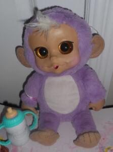 Teddy purple monkey
