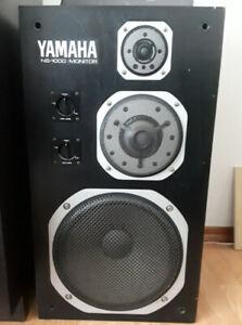 VINTAGE Yamaha NS-1000 m Speakers
