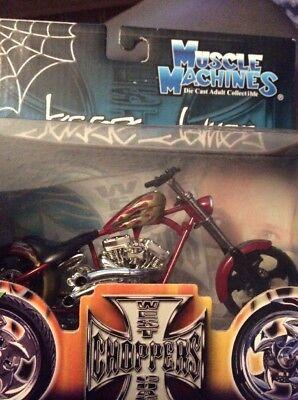 jesse james west coast choppers El Diablo Rigid Motorcycle Red Gold Flames