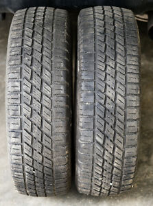 2 Nordic Icetrac 175/70R13 tires