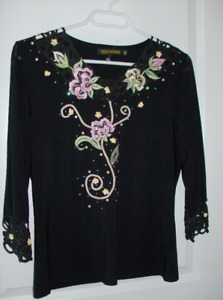 Size Small - 2 Designer Tops - Beautiful Quality