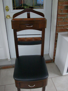 Chaise Valet  MOHOGANY  de  Chambre (valet  stand )
