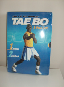 4 Exercise DVD's - Less than 1/2 Price  + 2 New Tae Bo DVD's