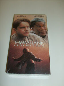 NEW The Shawshank Redemption VHS (Sealed and Unopened)