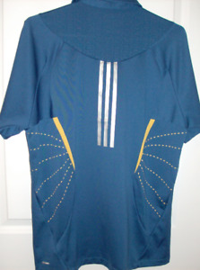Size Med - Golf Wear Adidas, Driven,  Athletic & Dress Shirt