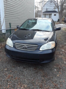 ***SOLD*** Toyota Corolla - Parts Car