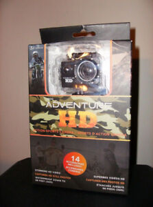 COBRA ADVENTURE HD CAMERA W/14 PC ACCESSORIES (NEW)