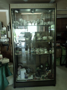 Kaiser Glass Display Cabinet,