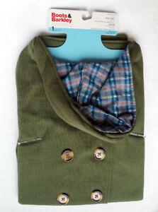 BNIP Boots & Barkley Pet Dog Pea Cotton Coat Jacket Clothes ~ L