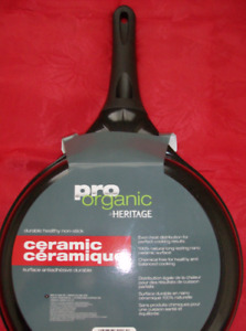 Organic Frying Pan,  New Twin Sheets, Chip Maker & Oster Jars