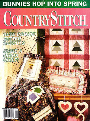 Country Stitch Mar/Apr 1992 Easter Spring & St. Patrick's Day Projects to Make