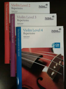 Royal Conservatory of Music Violin Books (5)