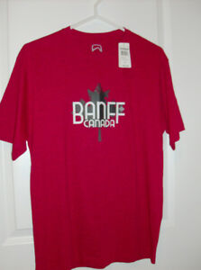 "NEW Banff Canada T-Shirt Tag On + NEW ""And 1"" Shorts - Small"