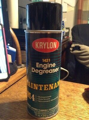 KRYLON 1421 Engine Degreaser - 12 oz. M4. (LOT OF 6)