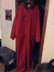 Brand new insulated coveralls.