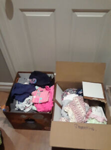 Girl 6 to 12 months clothing. Includes everything you need