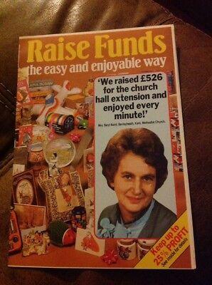 Vintage Advertising Paper - Vintage Leaflet Fund Raising Advertising Paper Webb Ivory