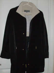 Liz Claiborne Coat  & NEW  Reversible Jacket