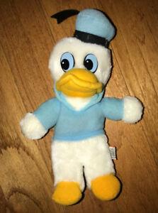 Vintage Donald Duck 10 Inch Plush Nutshell Plush Korea Disney