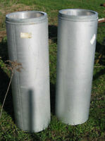 2 pieces of Gas Vent Pipe