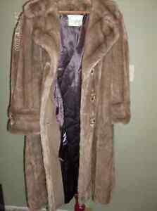 Vintage Faux Fur Coat by The Sterling Stall Group Stratford Kitchener Area image 2