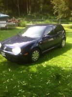04 VW GOLF TRADE FOR A STREETBIKE