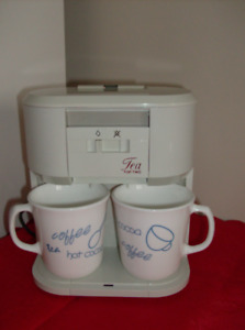 Tea for Two by Phillips + 2 NEW Corelle Mugs