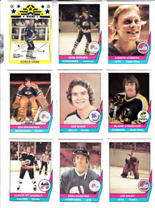 1977-78 OPC AMH SERIE COMPLETE  1-66