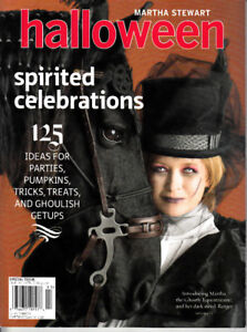 Martha Stewart Halloween Spirited Celebrations 125 Ideas Special