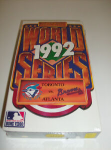 NEW Baseball VHS  1992 World Series  - Sealed and Unopened