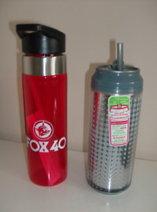 2 New Water Bottles Fox 40  and Cool Grear