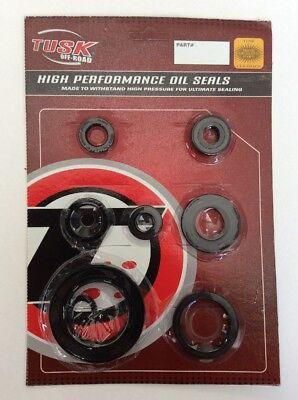 Tusk Engine Oil Seal Kit Set Seals HONDA CR250R 1992-2001 cr250