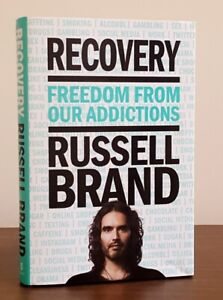 """Recovery"" Hardcover by Russell Brand - Read only once"