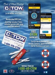 C-TOW Marine Assistance New Boating App